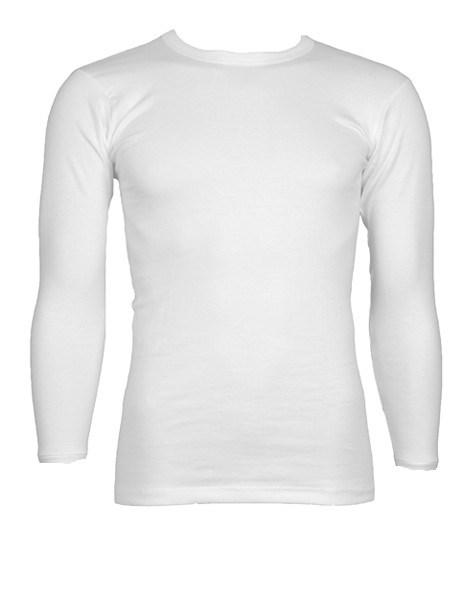 688f64bdc70 Beeren Kinder T-shirt lange mouw Wit - Been + Body